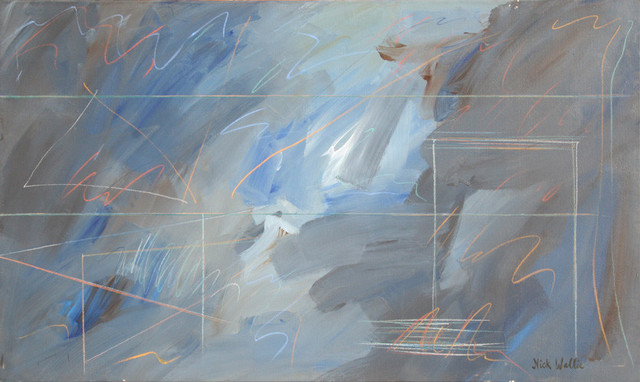 Nick Wallis, More Afterthoughts 17, Painting - Contemporary ...
