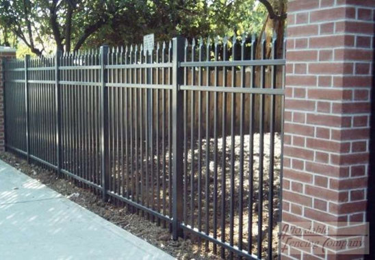 Security iron fence designs refencedesign