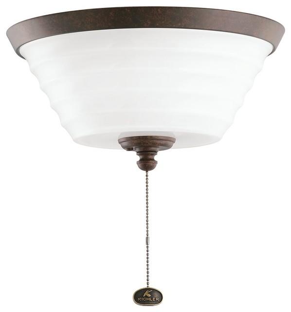 DECORATIVE FANS Fluorescent Ceiling Fan Light Kit X