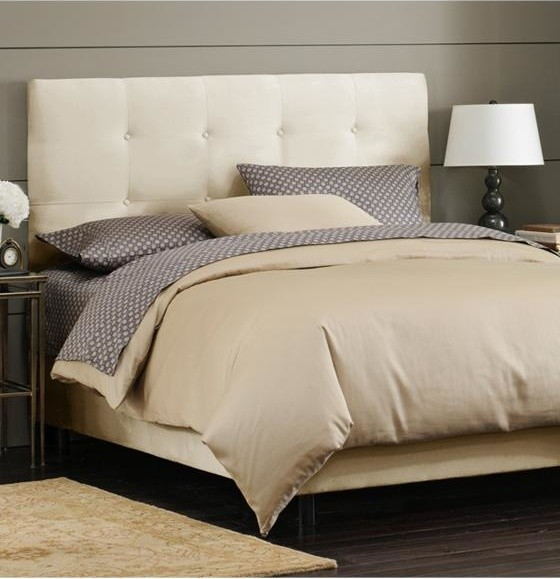 Custom Hadley Upholstered Bed traditional-beds