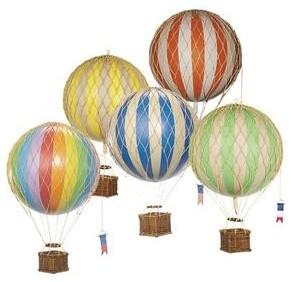 Hot Air Balloons Medium Nursery Decor Chicago By