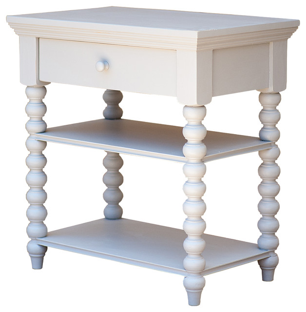 Alexander spindle table traditional side tables and end tables by sweet elle Traditional coffee tables and end tables