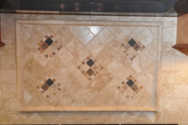 Dynasty, Brookside, Autumn, Coffee - traditional - tile - los