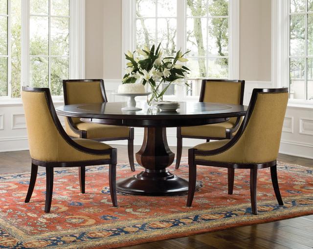 arlington round pedestal dining set traditional dining