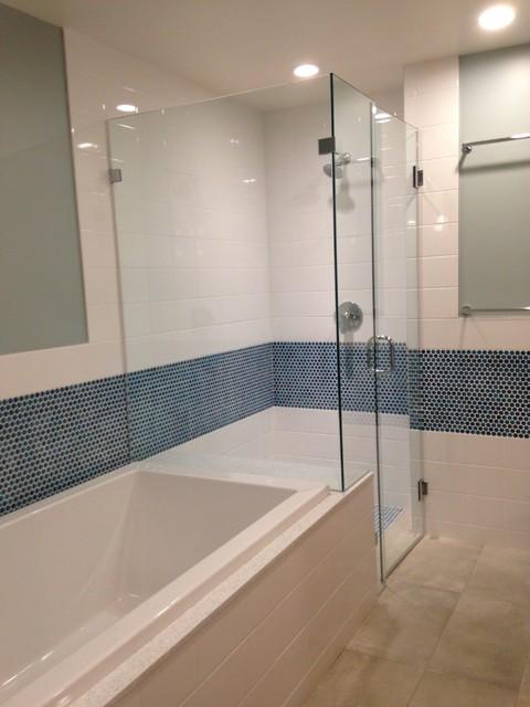 Mercer West contemporary-bathroom