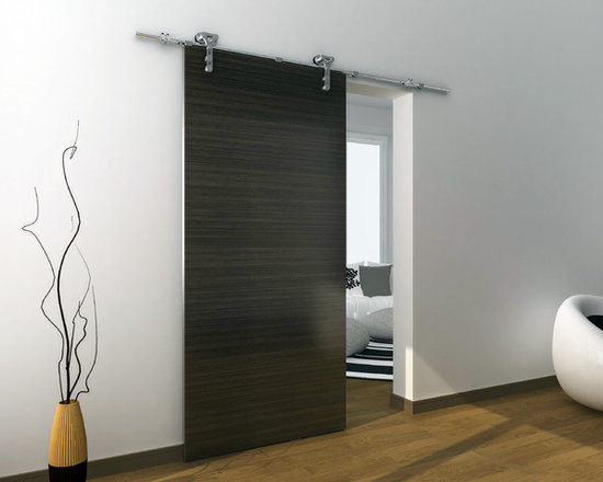 Barn door hardware modern barn door hardware for Modern interior doors