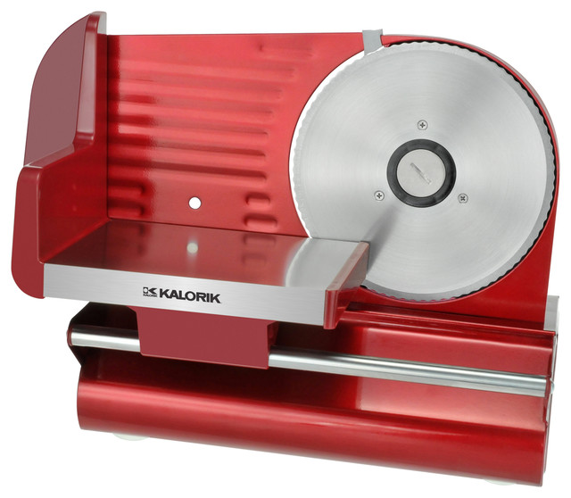 Multipurpose Kitchen Slicer, Red contemporary-specialty-small-kitchen-appliances