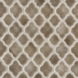 Moroccan Mesh-Mounted Mosaic Field mediterranean bathroom tile