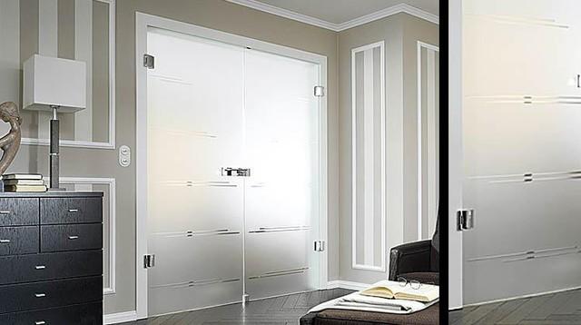 Castello on Satinato modern-interior-doors