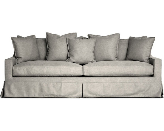 Kahala Sofa - The Kahala sofa perfectly combines the relax feel of the beach with the modern feel of Weego Home. The loose back cushioThe Kahala sofa perfectly combines the relax feel of the beach with the modern feel of Weego Home. The loose back cushions are plentiful, and seat cushions are soft.