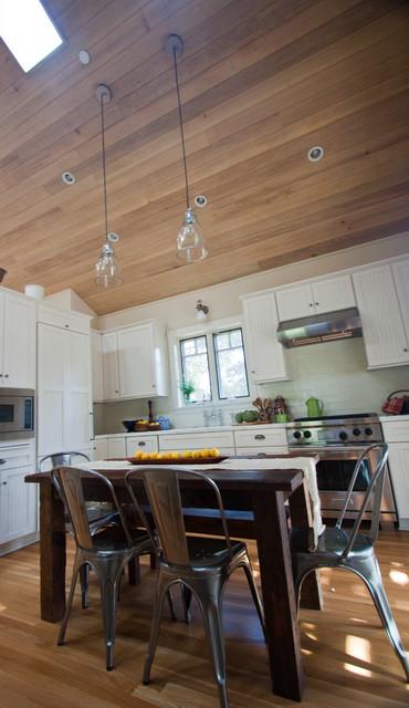 Padaro Rustic Barn House farmhouse-kitchen