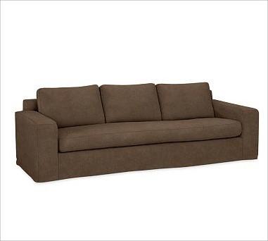 Solano Slipcovered Grand Sofa, Down-Blend Wrap Box Cushions, Everydayvelvet Moch traditional-sofas