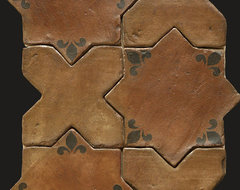 La Maison de Tunisie Terra Cotta Tile Collection ™ mediterranean floor tiles