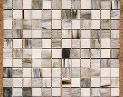 Stained Glass Mosaic Tile contemporary-tile