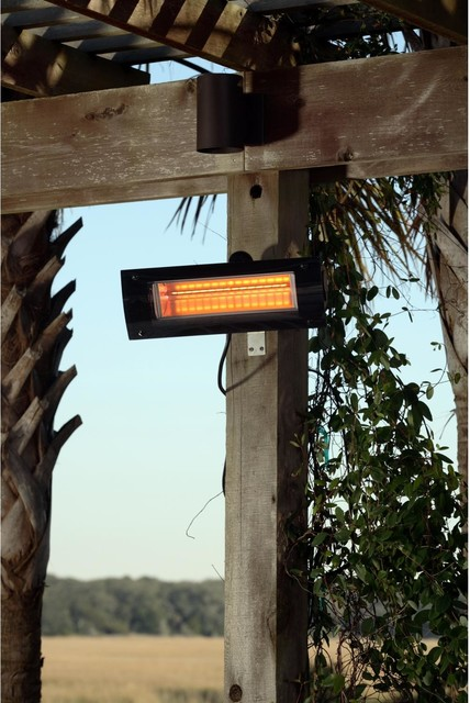 Wall Mounted Glass Front Electric Infrared Patio Heater patio-heaters