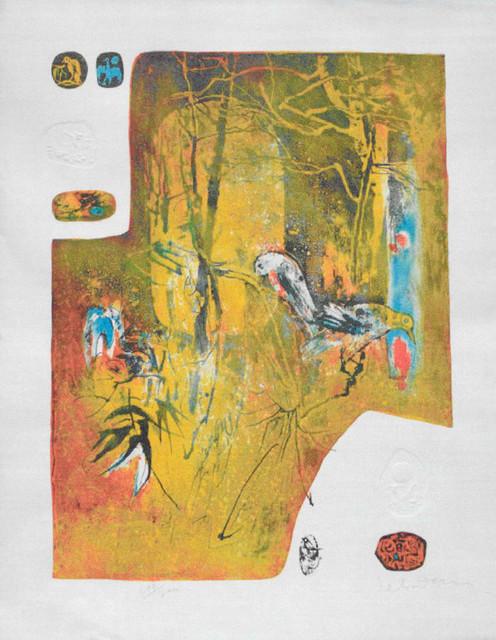 Lebadang, Untitled - Birds, Intaglio Etching modern-artwork