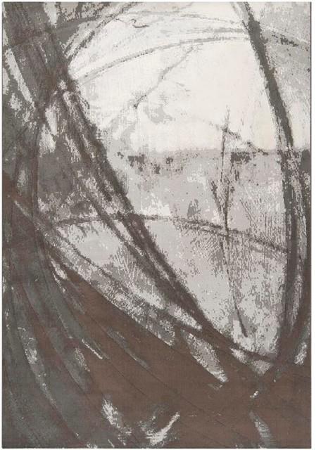 """Surya Contempo CPO-3705 5'3"""" x 7'6"""" Beige, Grey Rug contemporary-rugs"""