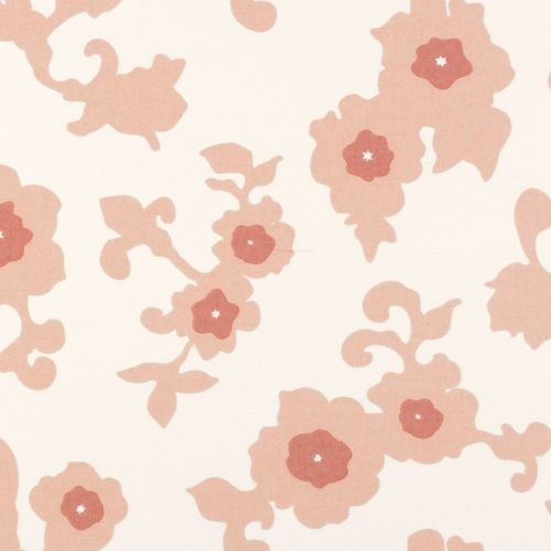 Blush Gardenia - Yardage traditional upholstery fabric