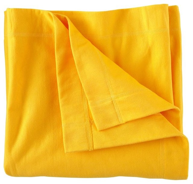 Favorite Sweats Blanket Yellow Contemporary Kids