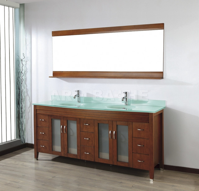Magnificent Double Bathroom Vanities - contemporary - bathroom vanities and  640 x 616 · 72 kB · jpeg