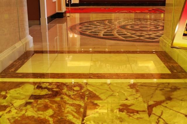 Green Onyx Flooring Design contemporary