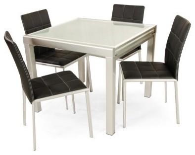 Martin 5 Piece Rectangular Dining Set modern-dining-tables