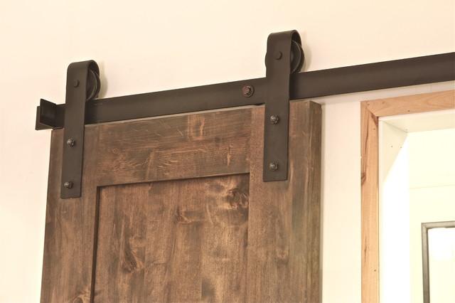 Industrial Barn Door Hardware contemporary-barn-door-hardware