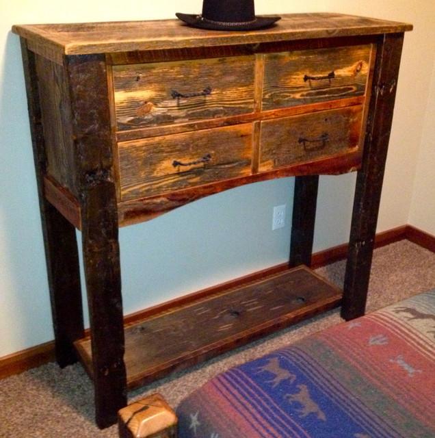 Rustic Furniture Portfolio rustic-dressers
