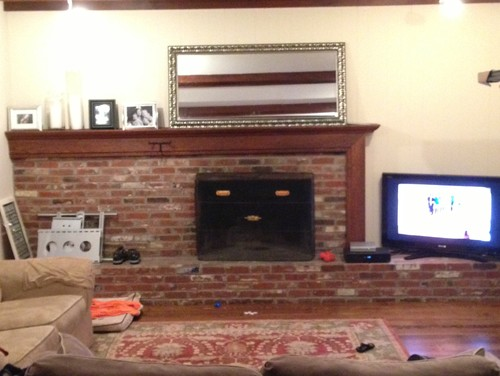 Ok Help For Asymmetrical Fireplace
