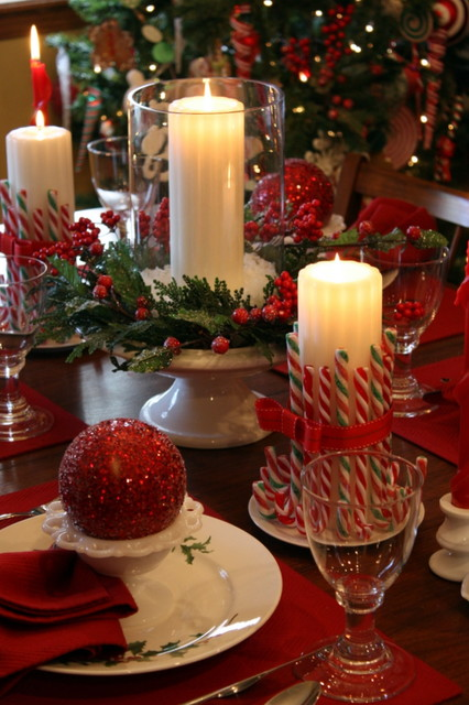 Christmas Around the House - traditional - dining room - kansas ...