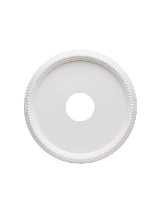 Westinghouse 16 in. Beaded Ceiling Medallion-7773300 at The Home Depot -