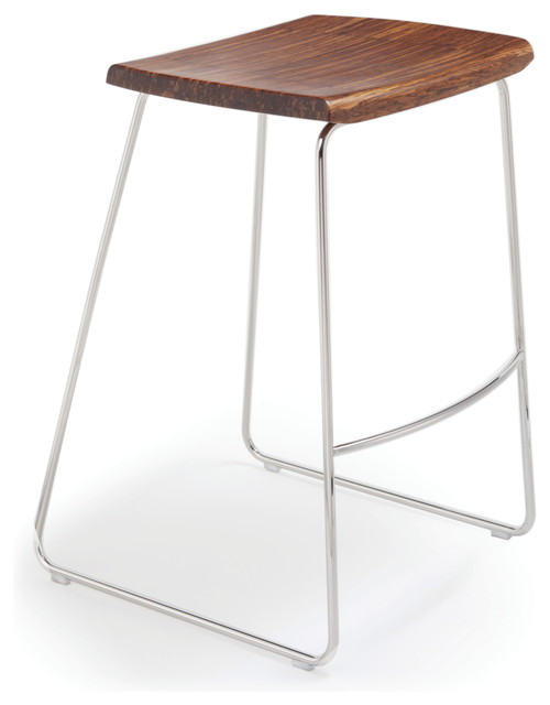 Counter Height Stools Houzz : Bar-Height Stool Without Back - Contemporary - Bar Stools And Counter ...