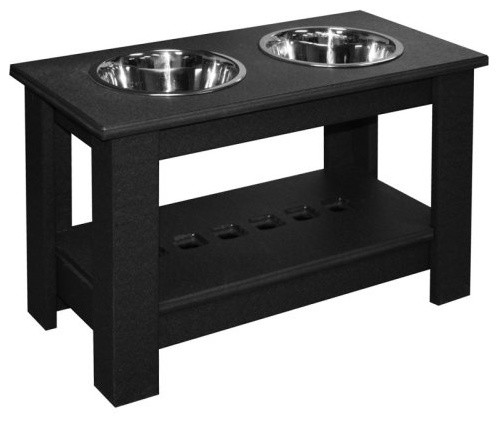 Eagle One Doggie Dining Table contemporary-pet-bowls-and-feeding