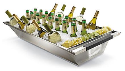 Glacier Double-wall Beverage Servers contemporary-serveware