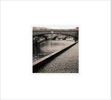 "Michal Venera Framed Print, Bridge, No Mat, 18 x 18"", White traditional-artwork"