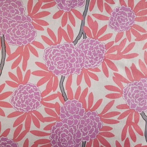 Berry Fleur Chinoise Fabric asian-fabric