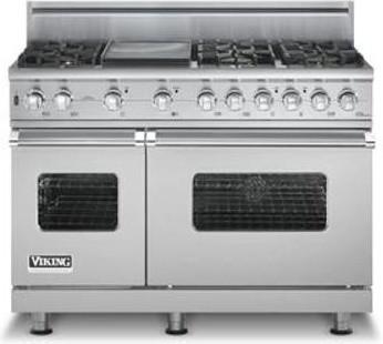 Viking 48 Dual Fuel Range Gas And Electric Range