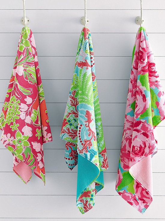 Lilly Pulitzer Sister Florals Towels -