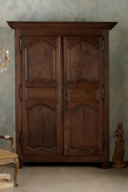 Louis XV Original Armoire rustic-dressers-chests-and-bedroom-armoires