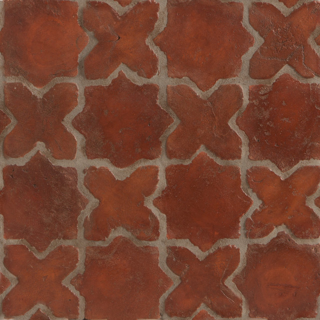 Spanish Stained Terracotta Tiles