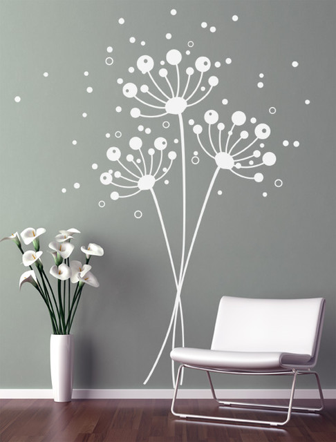 Dandelions Contemporary Wall Decals New York By & Dandelion Wall Decal - Elitflat