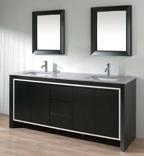 Studio Bathe Modino Double Sink Vanity Contemporary Bathroom Vanities And