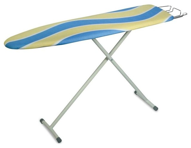 Honey-Can-Do Ironing Boards Ironing Board with Iron Rest blue/yellow/white - Contemporary ...