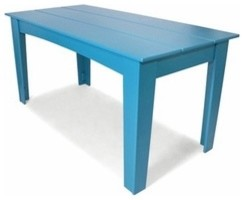 "Loll Designs | Alfresco 62"" Rectangular Table modern-outdoor-dining-tables"