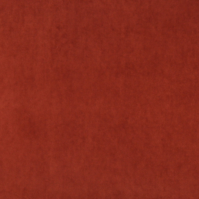 Rust Red Plush Elegant Cotton Velvet Upholstery Fabric By ...