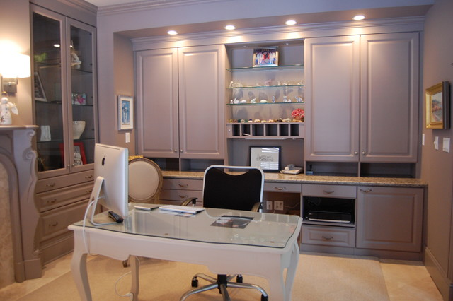 Custom Color Home Office traditional-home-office