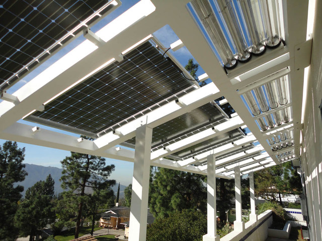 Structure With Thermal Amp Pv Contemporary Prefab