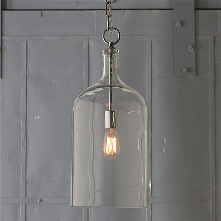 Glass Jug Lantern