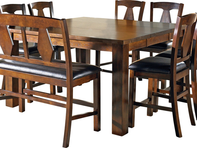Counter Height Leaf Table : ... Lakewood Counter Height Table with Leaf traditional-dining-tables