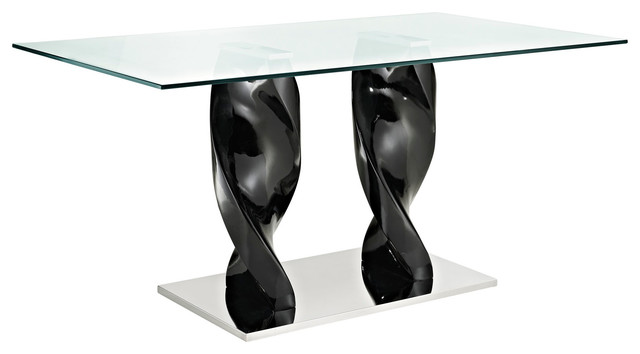Ice Quarry Dining Table in Black modern-dining-tables